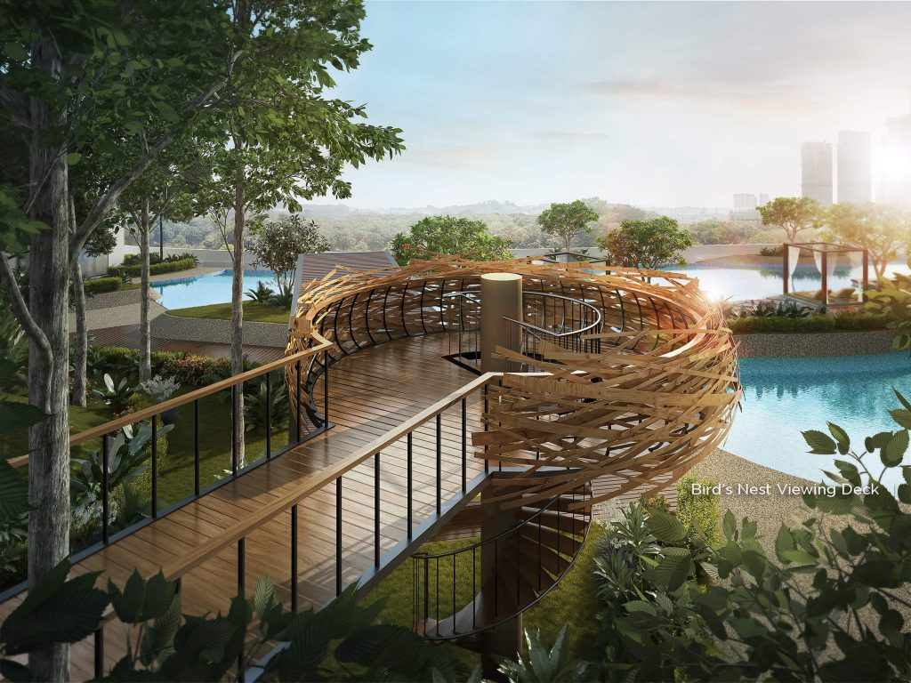 The Tropika - Bird's Nest Viewing Deck