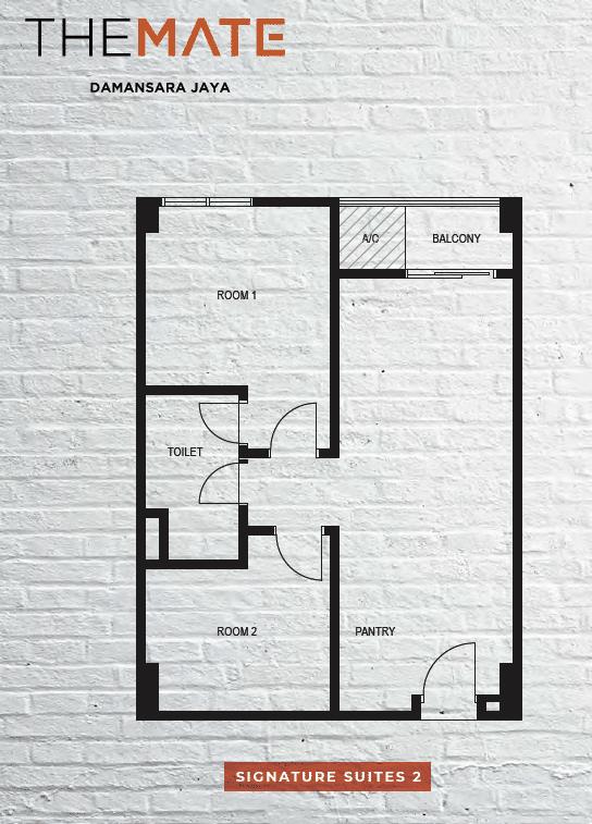 2 Bedrooms Units